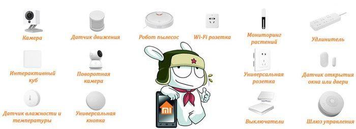 Умный дом Xiaomi что входит
