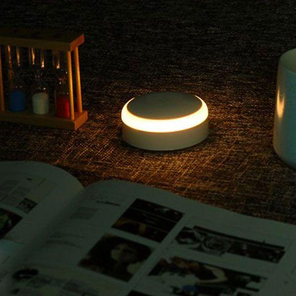 Mi night lamp вид ночью