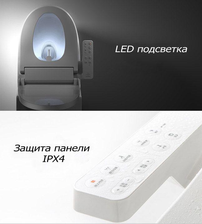 Крышка туалета Xiaomi с подсветкой