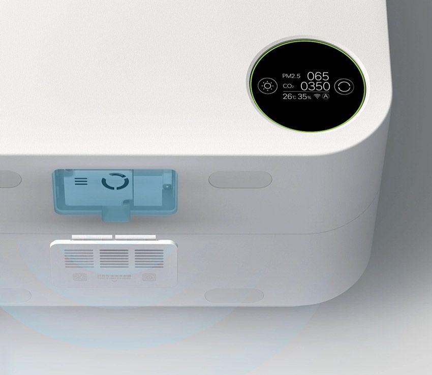 Дисплей PM2.5 на очистителе воздуха SmartMi