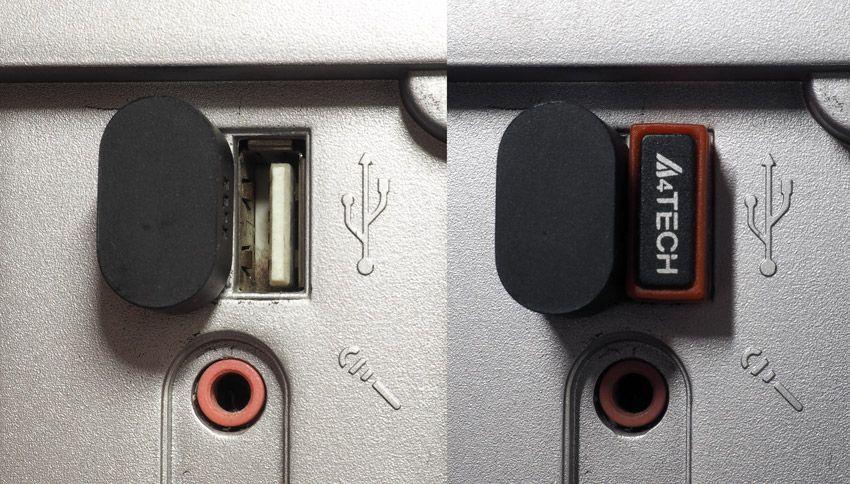 Xiaomi USB WiFi адаптер размер