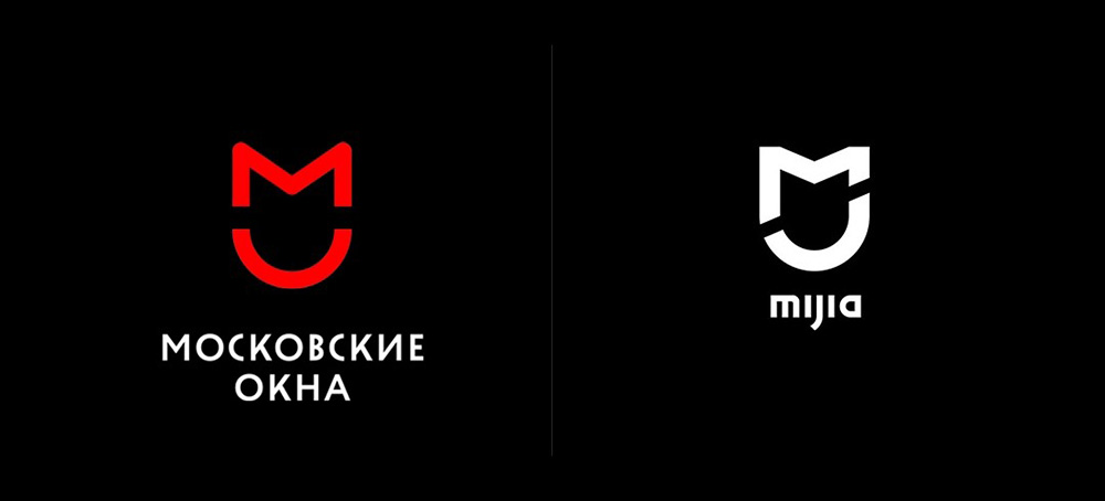 Плагиат логотипа Mijia