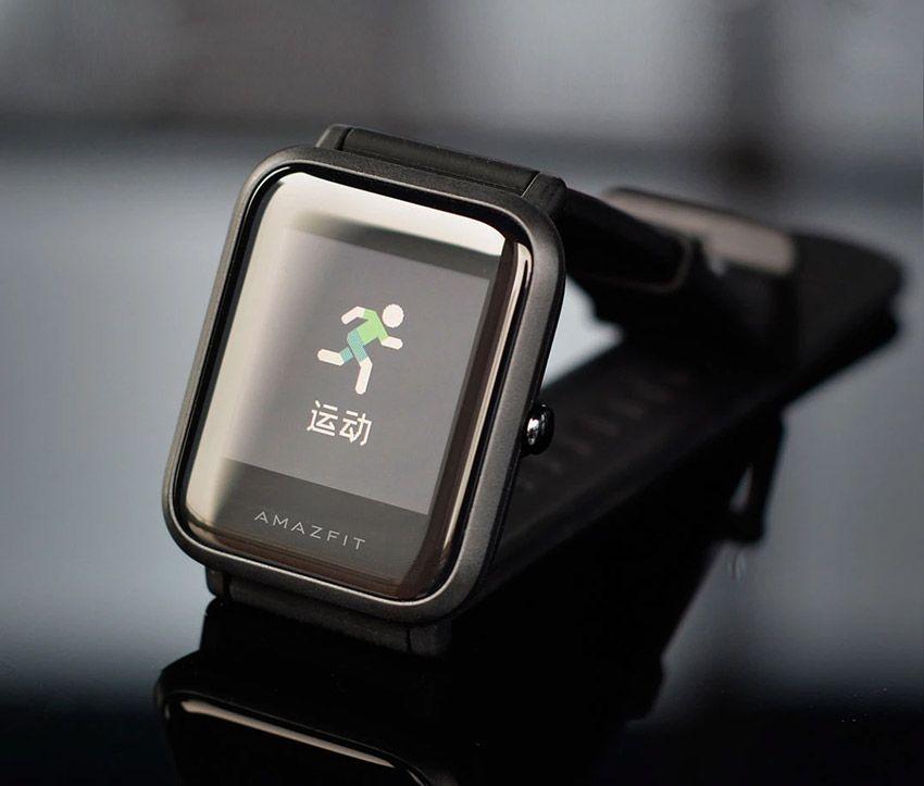 Экран смарт часов Xiaomi amazfit Bip