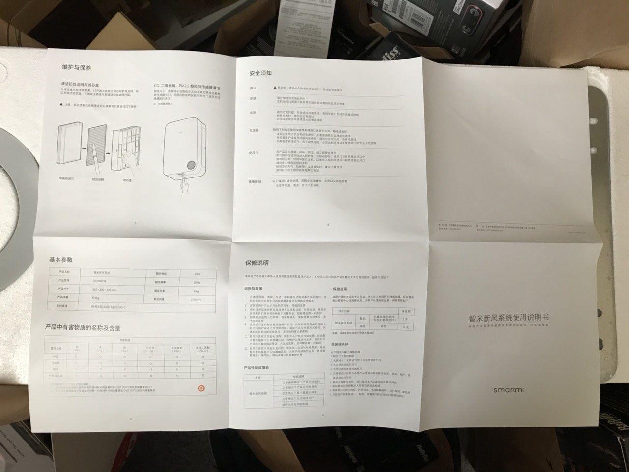 Мануал к приточному водухоочистителю Xiaomi