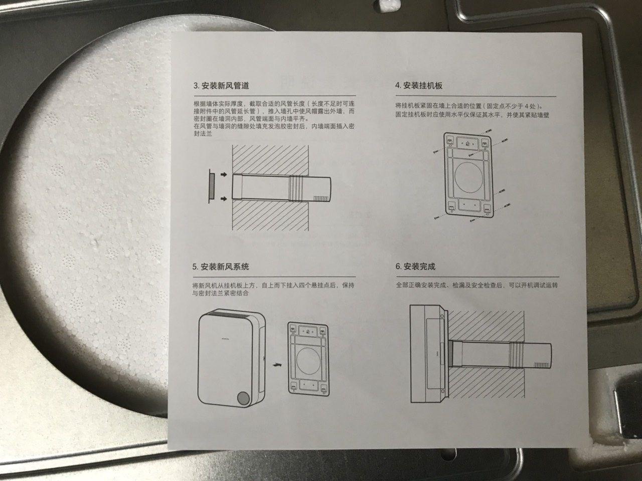 Мануал к приточке Xiaomi