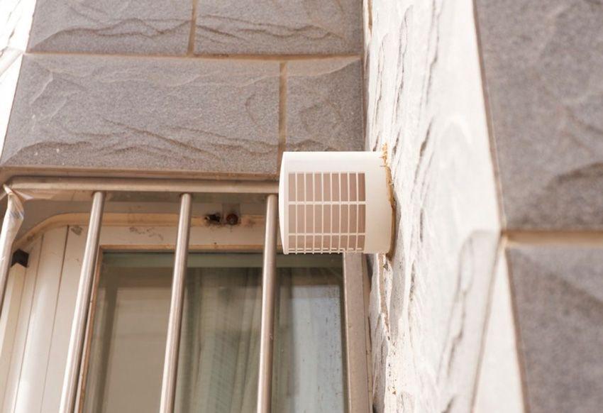 Уличная решетка приточки воздуха Xiaomi