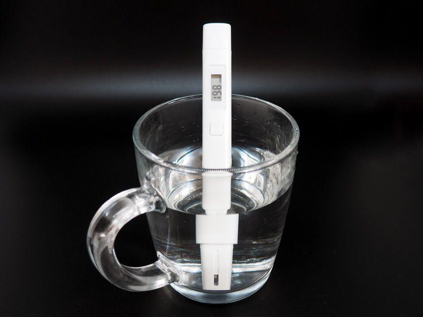 Тестер качества воды Xiaomi измерение значения TDS водопроводной воды