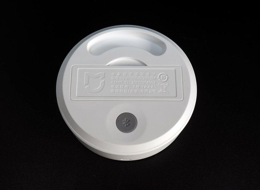 Кнопка Bluetooth сопряжения гигротермографа Xiaomi