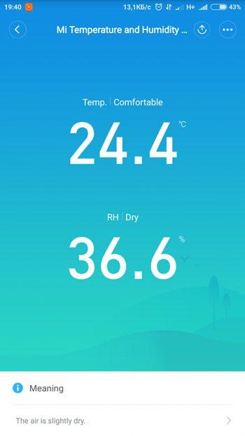 Плагин управления Bluetooth датчиком температуры Xiaomi
