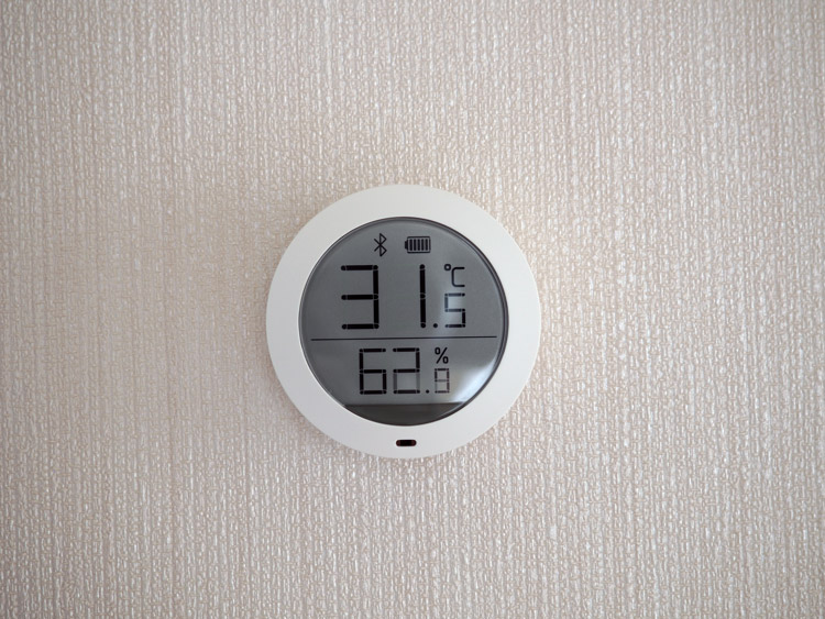 Датчик температуры и влажности с подключением по Bluetooth от Xiaomi