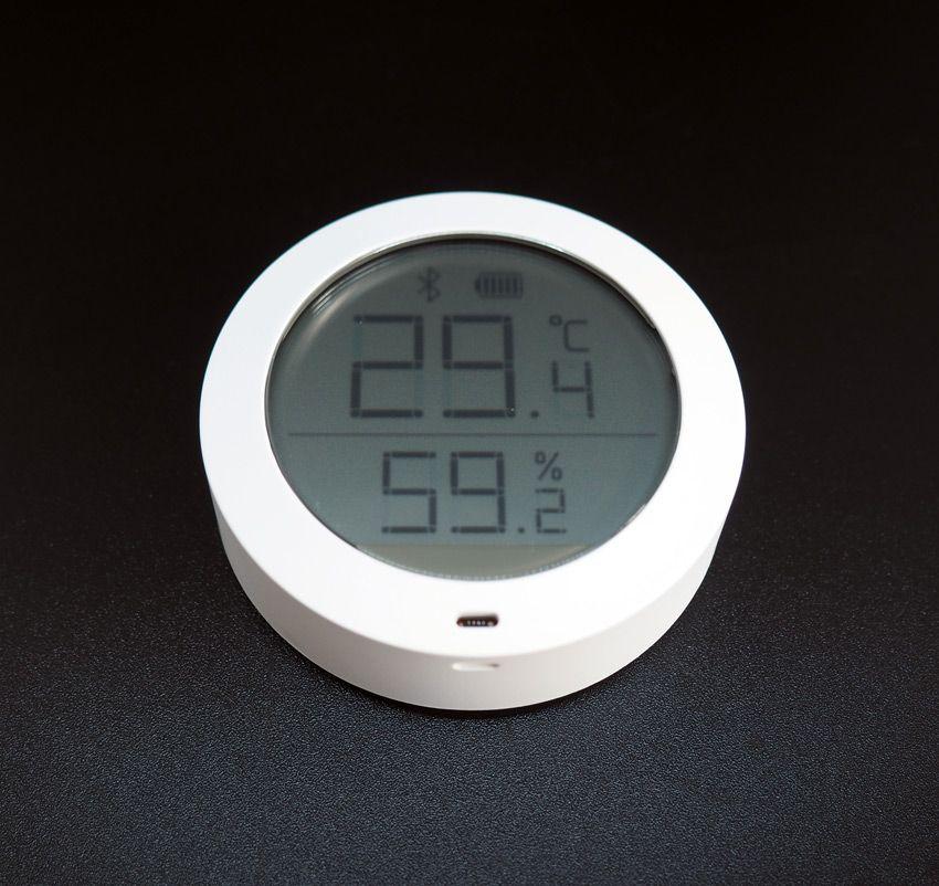 Датчик температуры и влажности Xiaomi с экраном