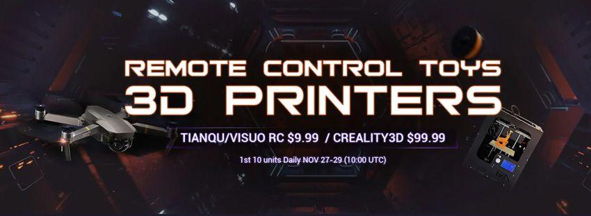 распродажа gearbest 3d принтер за 100$
