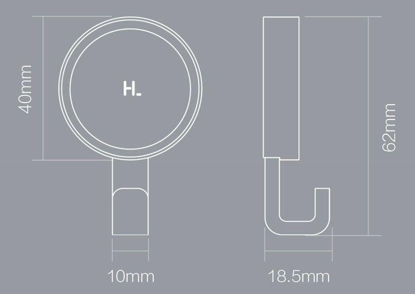 Размеры крючков Xiaomi