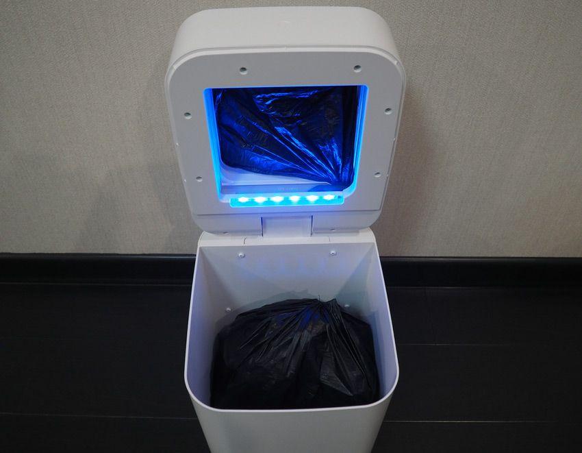 Заполненный пакет в ведре Xiaomi