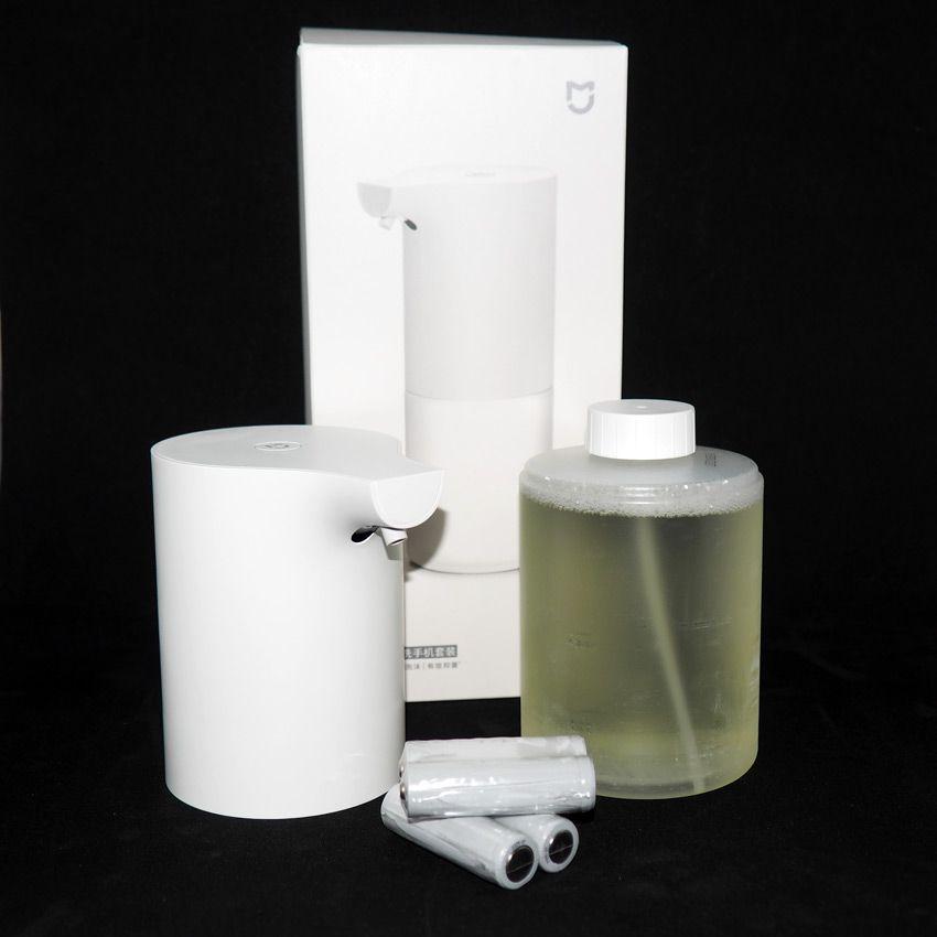 Комплектация диспенсера жидкого мыла Xiaomi Mijia