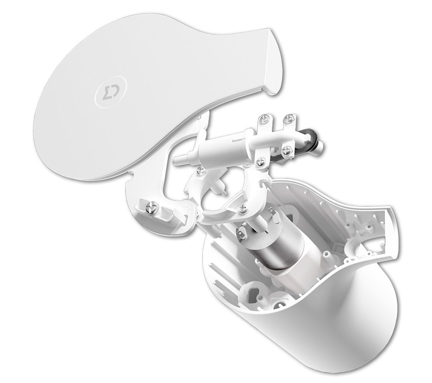Структура диспенсера для жидкого мыла Xiaomi Mijia