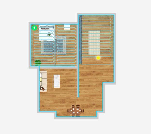 Уборка квартиры роботом пылесосом Xiaomi
