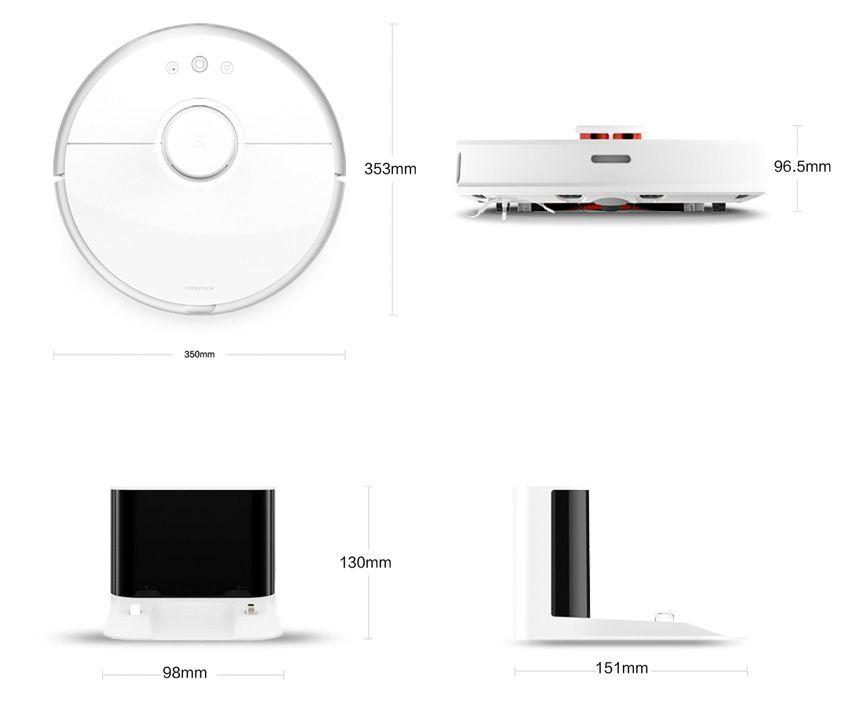 Размеры моющего пылесоса Xiaomi