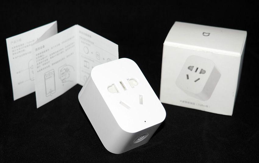 Комплектация умной розетки Xiaomi