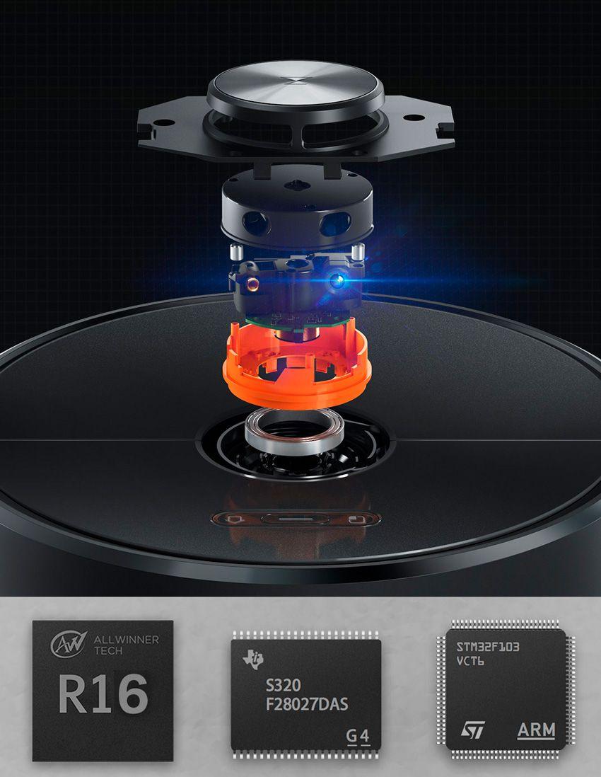 Лазерный дальномер робота пылесоса Xiaomi Roborock T6