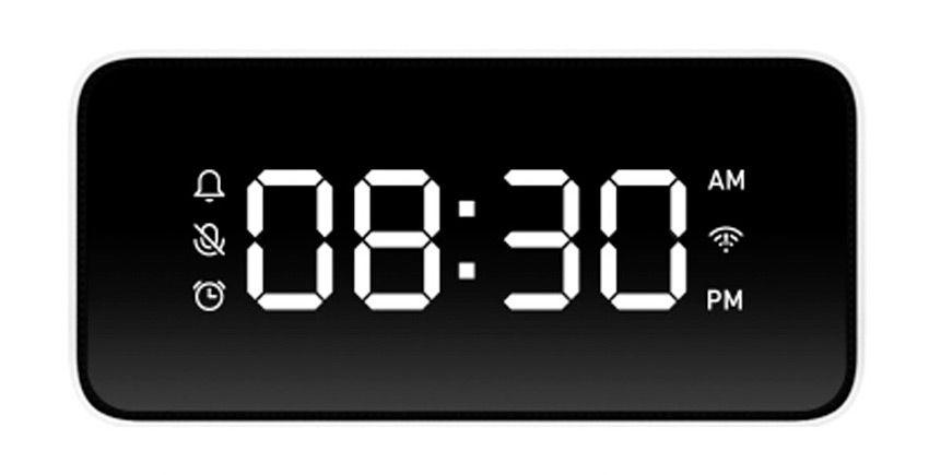 Экран умного будильника Mi