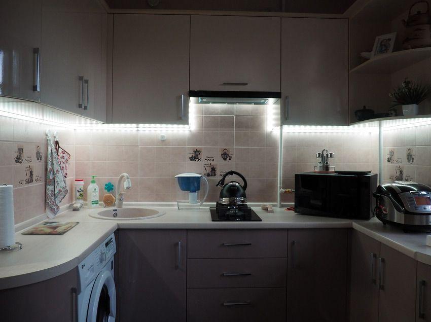 Подсветка кухни от Xiaomi