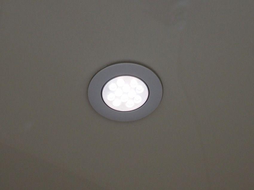 Проверка работы светильника