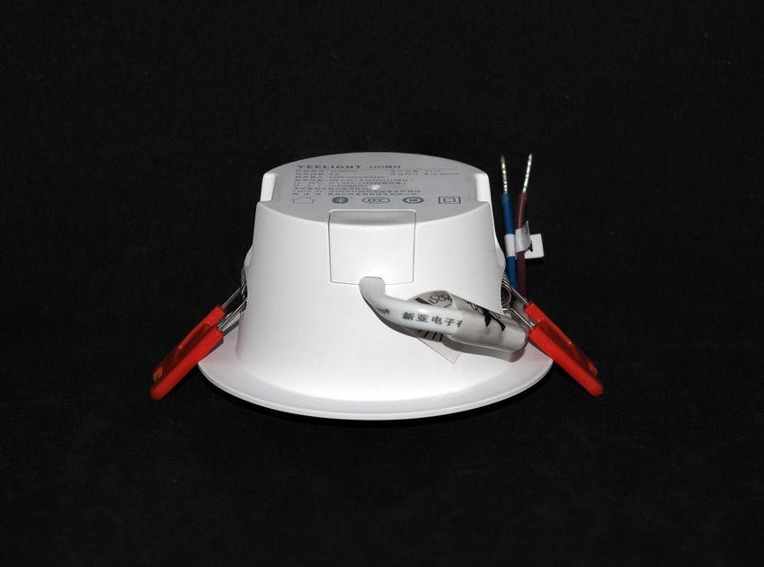 Точечный светильник Yeelight вид сбоку