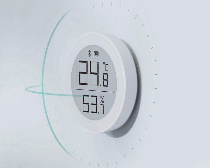 Измерение температуры Xiaomi ClearGrass с экраном
