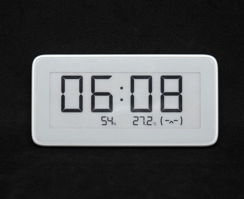 Часы с датчиком температуры и влажности Mijia
