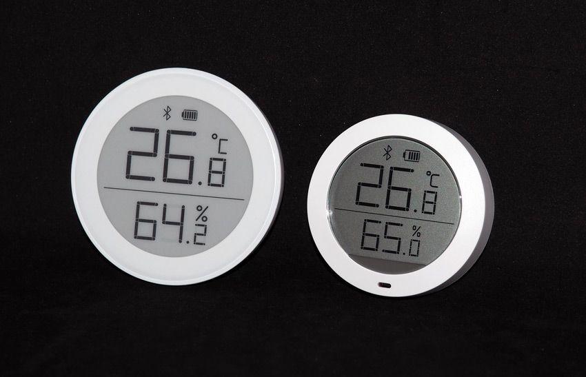 Сравнение показателей температуры и влажности