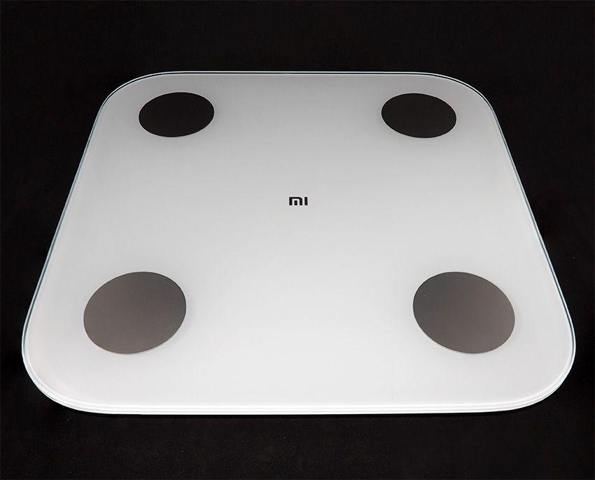 Лицевая сторона весов Xiaomi