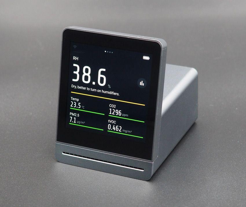 Показатели монитора качества воздуха Xiaomi