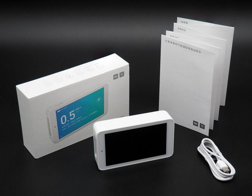 Комплектация Xiaomi mijia air quality tester