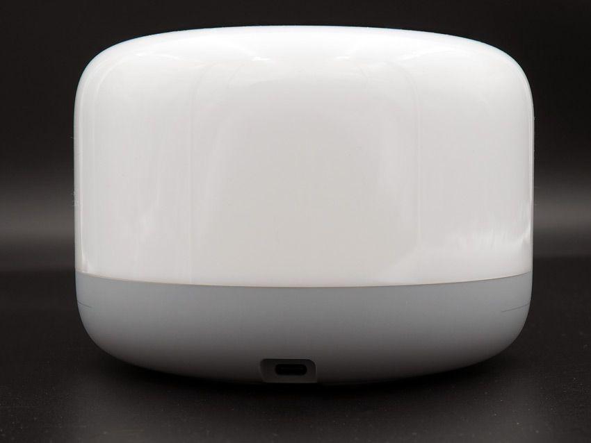 Разъем USB type-c для подключения питания к лампе