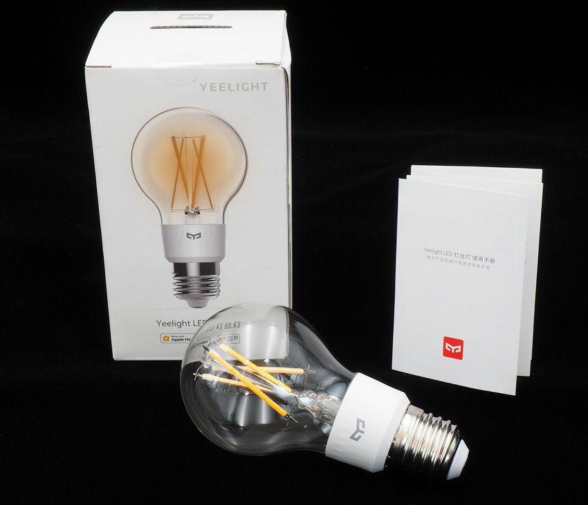 Комплектация филаментной лампочки Xiaomi