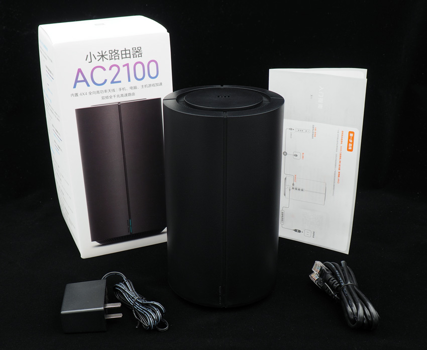 Комплект поставки WiFi роутера Xiaomi AC2100