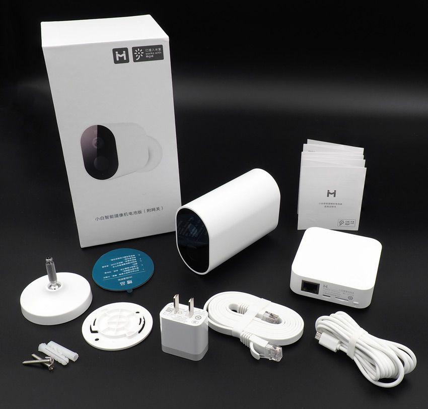 Комплектация уличной камеры Xiaomi