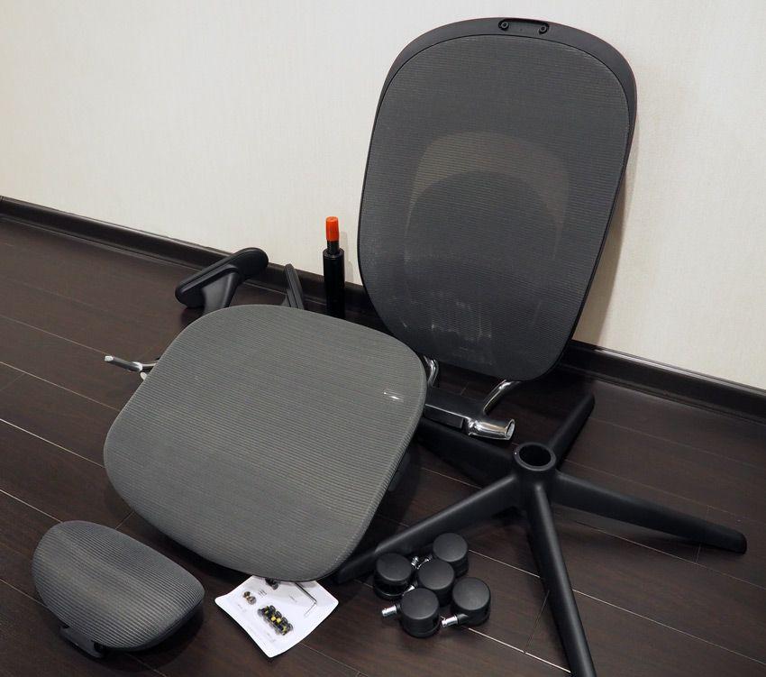 Комплект поставки компьютерного кресла Xiaomi YMI