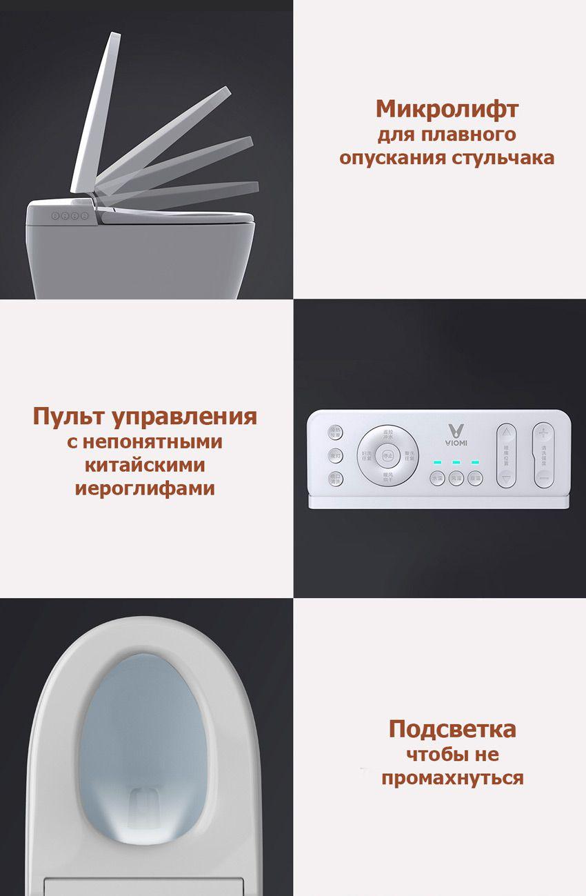 Функция подсветки и микролифт