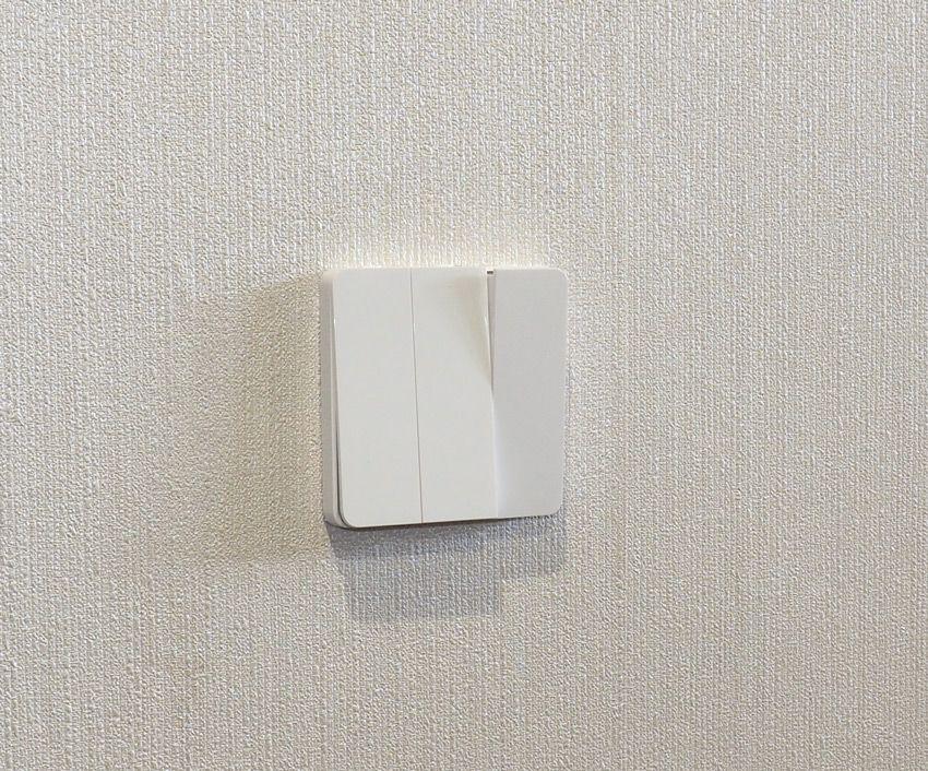 Фото установленного выключателя