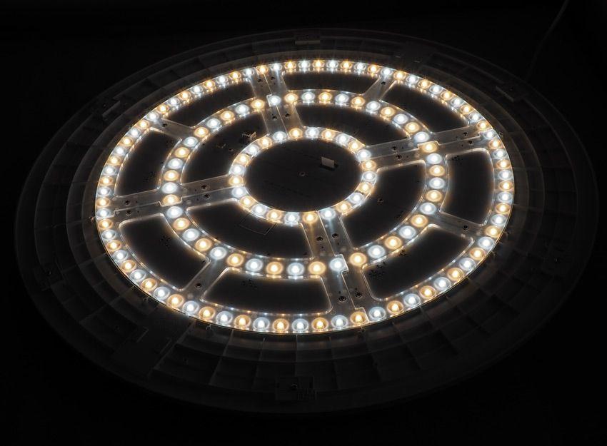 Снятие рассеивателя с лампы Xiaomi