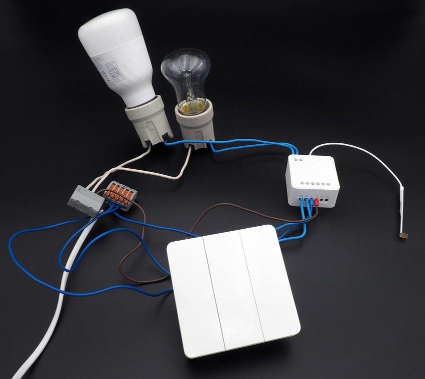 Как подключать Flex выключатели