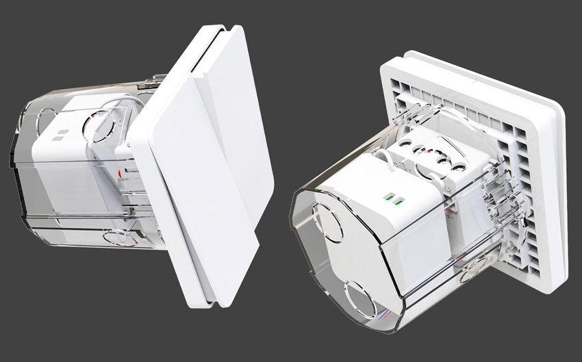 установка реле Xiaomi в монтажную коробку