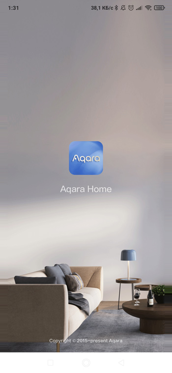 Приложение для умного дома Aqara