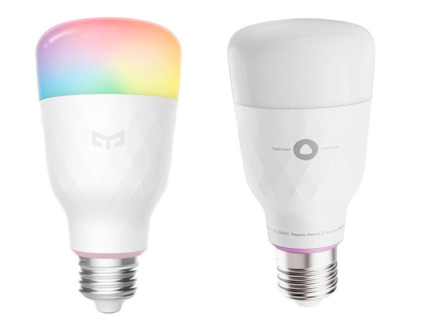 Сравнение лампочек Xiaomi и Яндекс