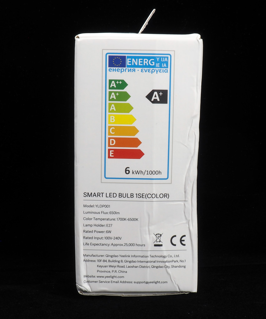 Yeelight Smart LED BULB 1SE (YLDP001)