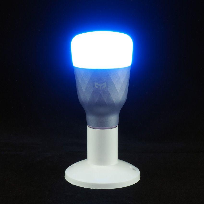 Цветная лампочка